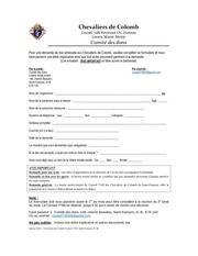 formulaire demandedon fb