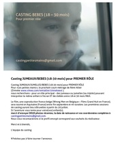 annonce casting bebes