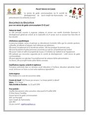 Fichier PDF offre d emploi educatrice