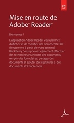 prise en main de adobe reader