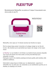 Fichier PDF fiche produit flexitup