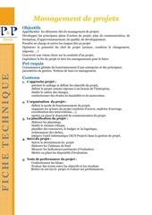 ft management de projet