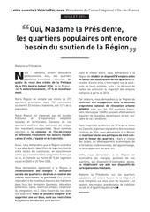 lettre ouverte quartiers pop