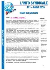 information syndicale n 1 juillet 2016 2