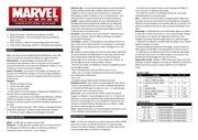 Fichier PDF marvel regles rapides