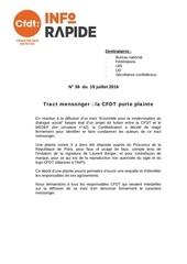 Fichier PDF n 38 tract mensonger la cfdt porte plainte