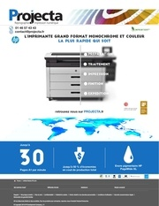 newsletter projecta hp printer