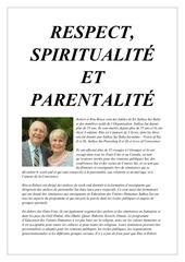 respect spiritualite et parentalite rita bruce