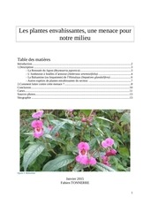 dossier complet les plantes envahissantes v2