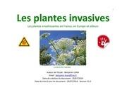 plantes invasives europeennes