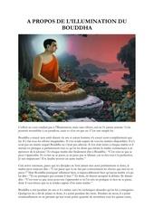a propos de l illumination du bouddha osho