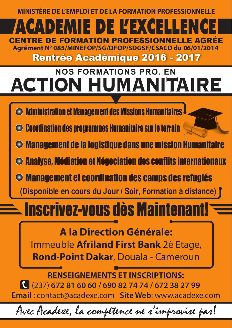 formation logistique humanitaire pdf