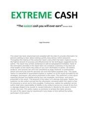 extreme cash 2016 july an easy money guide