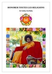 honorer toutes les religions sri sathya sai baba