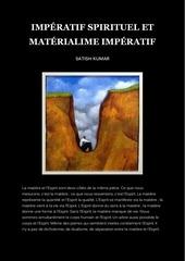 imperatif spirituel et materialisme imperatif satish kumar
