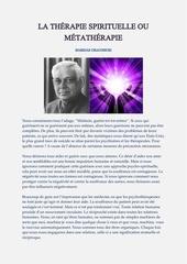 Fichier PDF la thErapie spirituelle ou mEtathErapie