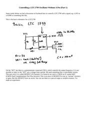 ltc1799 cv control