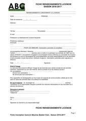 Fichier PDF fiche rens licencies2016