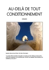 au dela de tout conditionnement osho