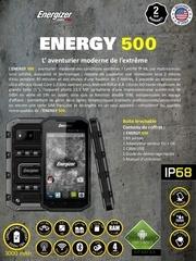 fiche tehcnique energizer 500
