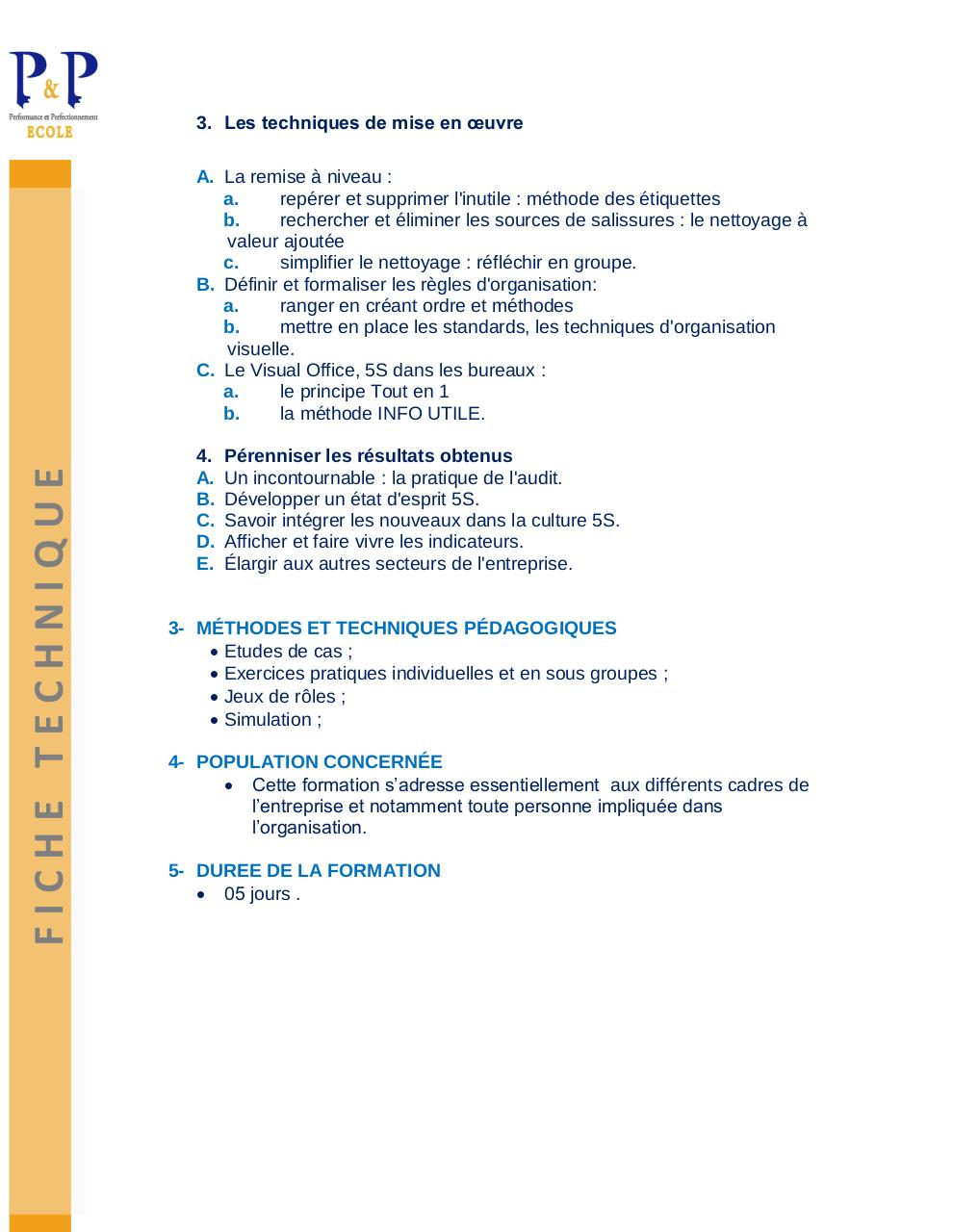 formation 5 s pdf