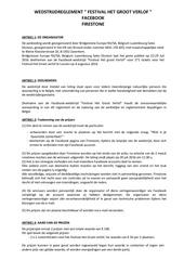 reglement jeu concours facebook het groot verlof bsbl nl