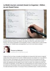 Fichier PDF le bullet journal