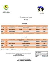 menus semaine 29 et 30
