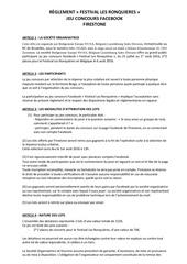 reglement jeu concours les ronquieres2 bsbl fr