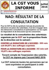 resultat consultation nao 2016