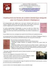 Fichier PDF permis de conduire