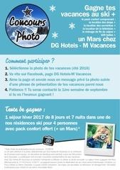 concours photo modalites clients