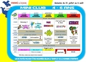 programme mini 4 6ans 3 1semaineaout