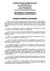 reglement et inscription vg 18 09 2016