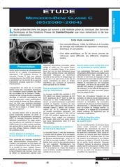 revue technique mercedes classe c cdi 2000 2004