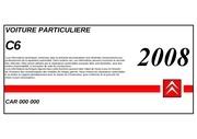 c6 carnet de poche 2008 mxg