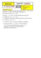 2eme lecon complexes