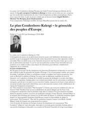 u e et le genocide des peuples d europe 1