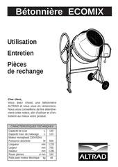 Fichier PDF betonniere electrique