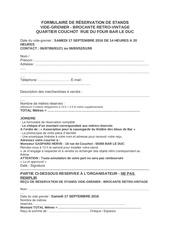 Fichier PDF formulaire de rEservation de stands
