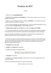 Fichier PDF generer 40 btc par jours