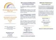 programme association arc en ciel maxeville