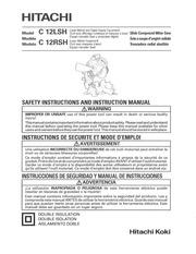 Fichier PDF scie radiale hitachi