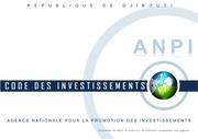 code des investissements a djibouti