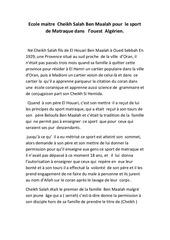 sport matraque traditionnel en algerie