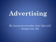 advertising pitch
