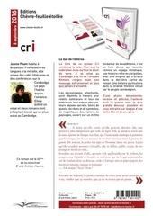 Fichier PDF cri