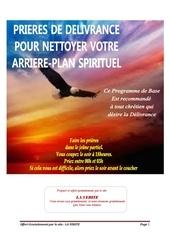programme de delivrance de base pdf
