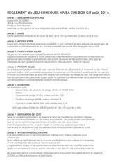 Fichier PDF reglement jeu concours nivea box sun