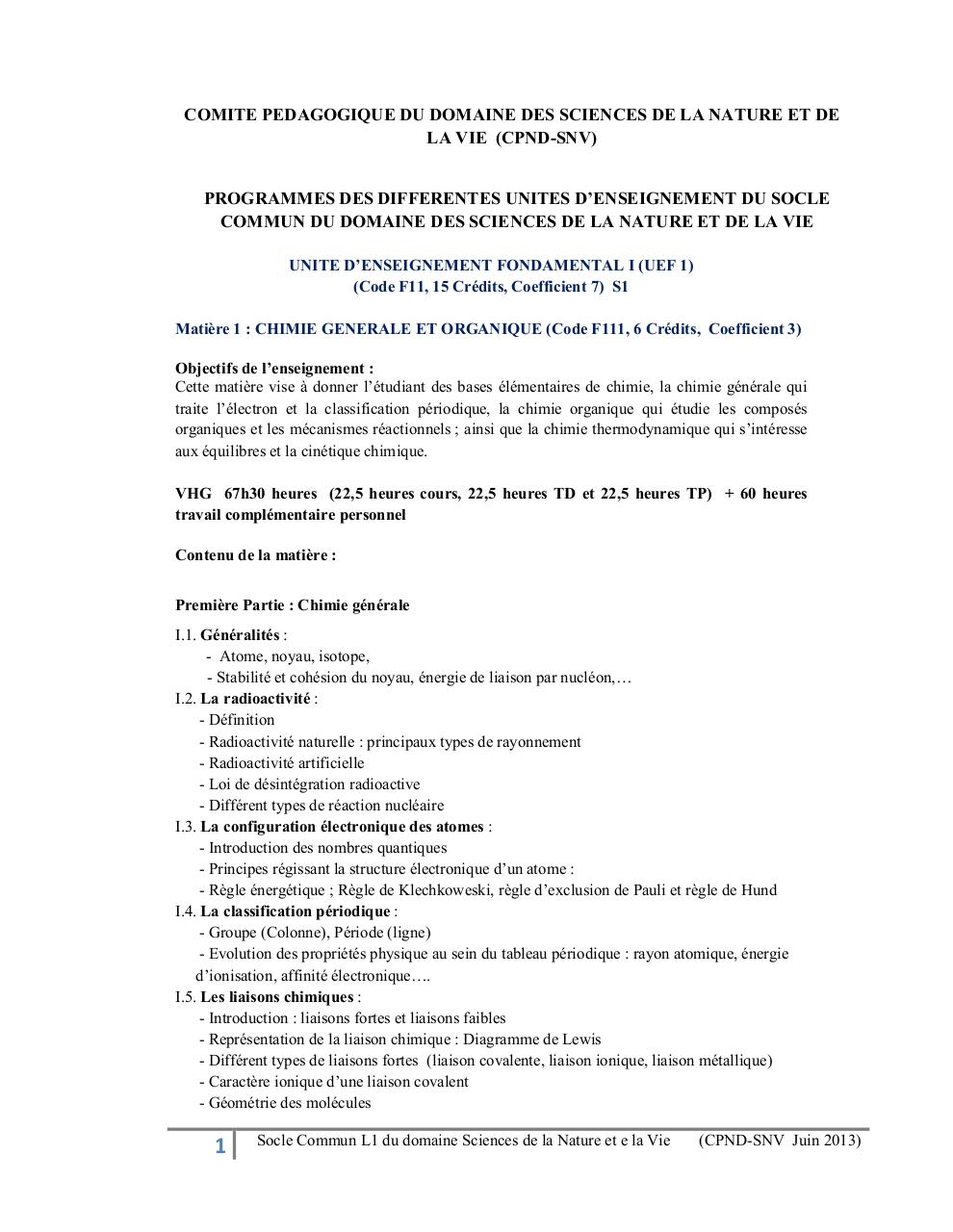 Aperçu du document socle commun snv en francais.pdf - page 1/15